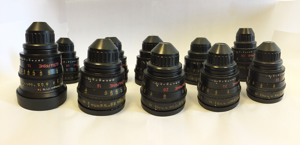 ARRI/ ZEISS ULTRA PRIME SET  SET OF 10 (14-16-20-24-32-40-50-65-85-135mm) - Image #1