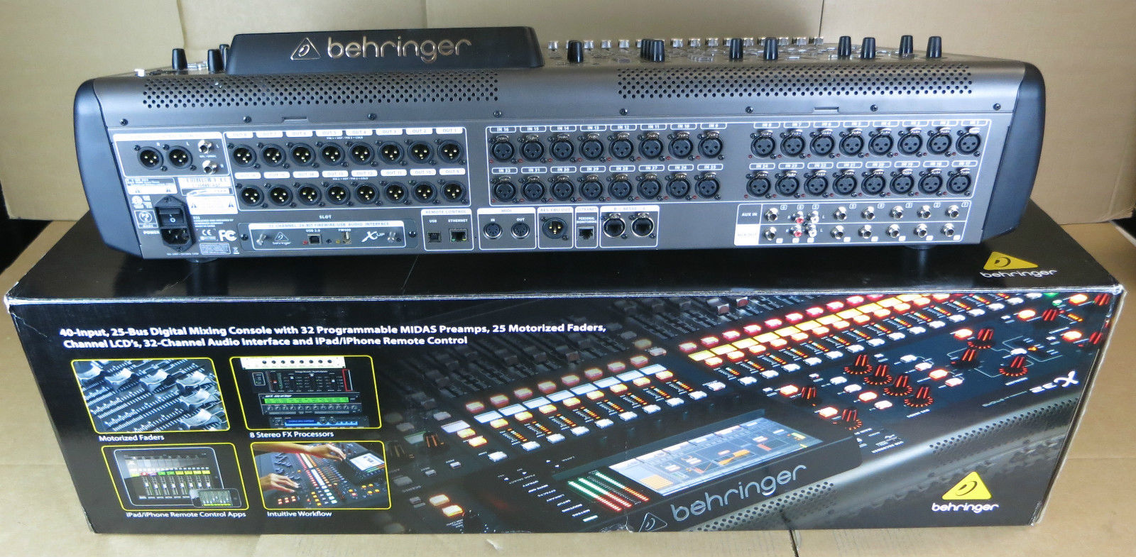 Behringer X32 32 Channel 40 Input Professional Id 176858