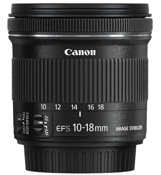 Canon EF-S 10-18mm f4.5-5.6 IS STM Zoom Lens - Image #1