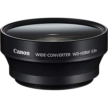 CANON WD H58W Wide Angle Converter - Image #1