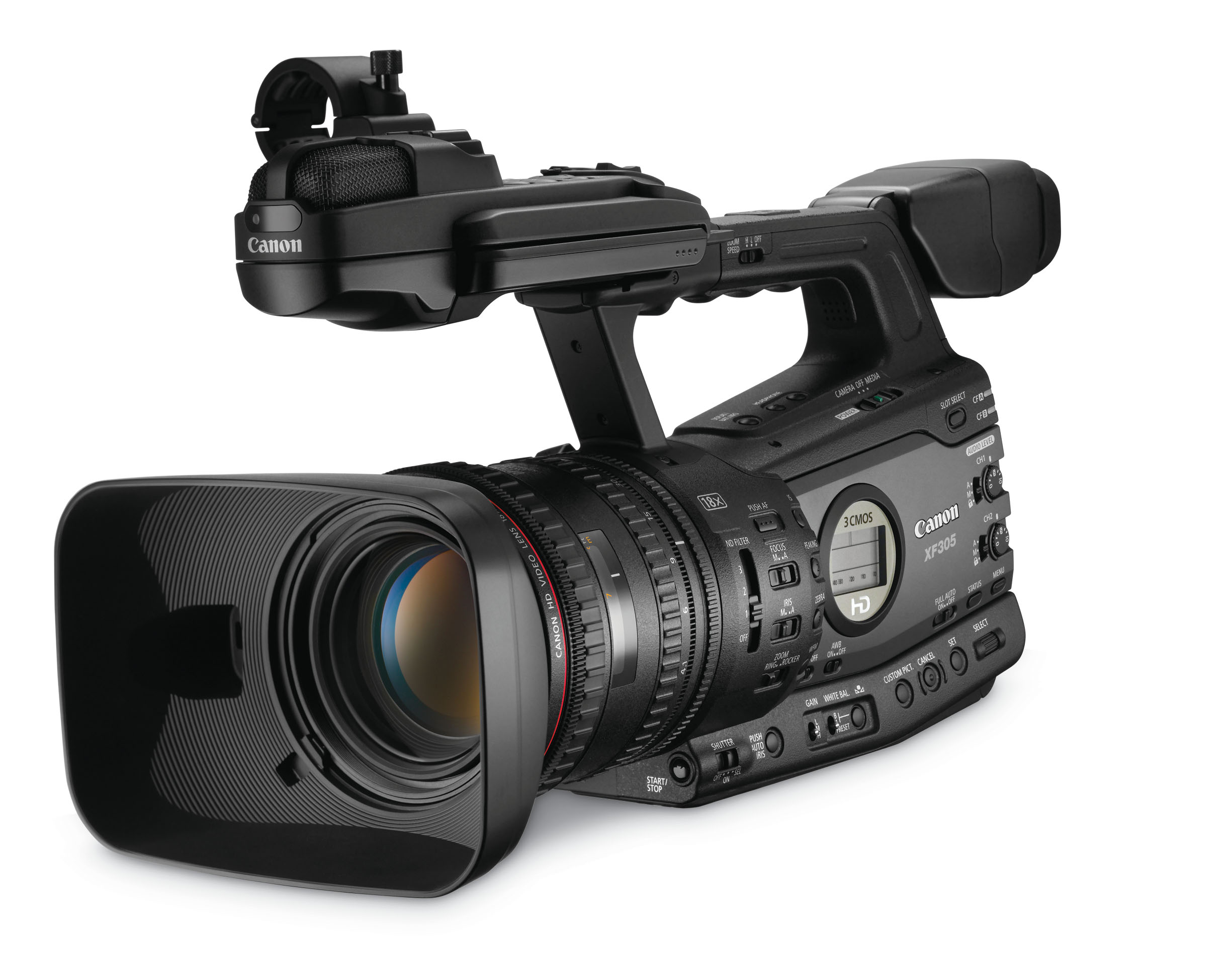 Canon XF305 Camcorder - Image #1