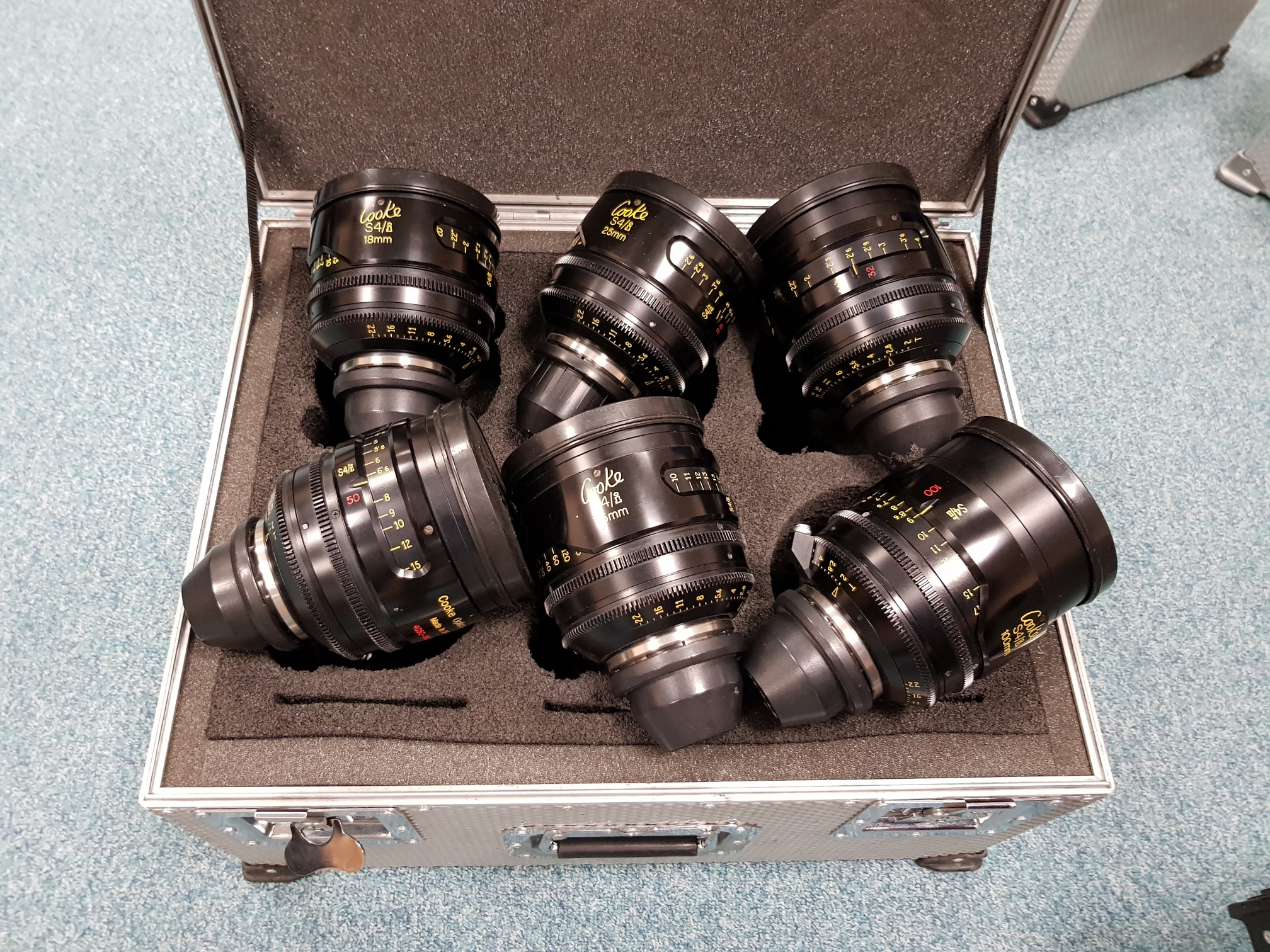 Cooke S4i set of 6 Lenses - Image #1