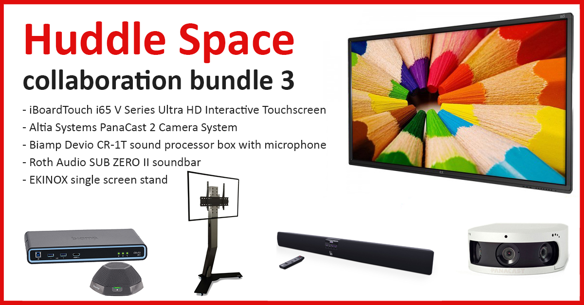 Huddle Space collaboration bundle 3 - Image #1