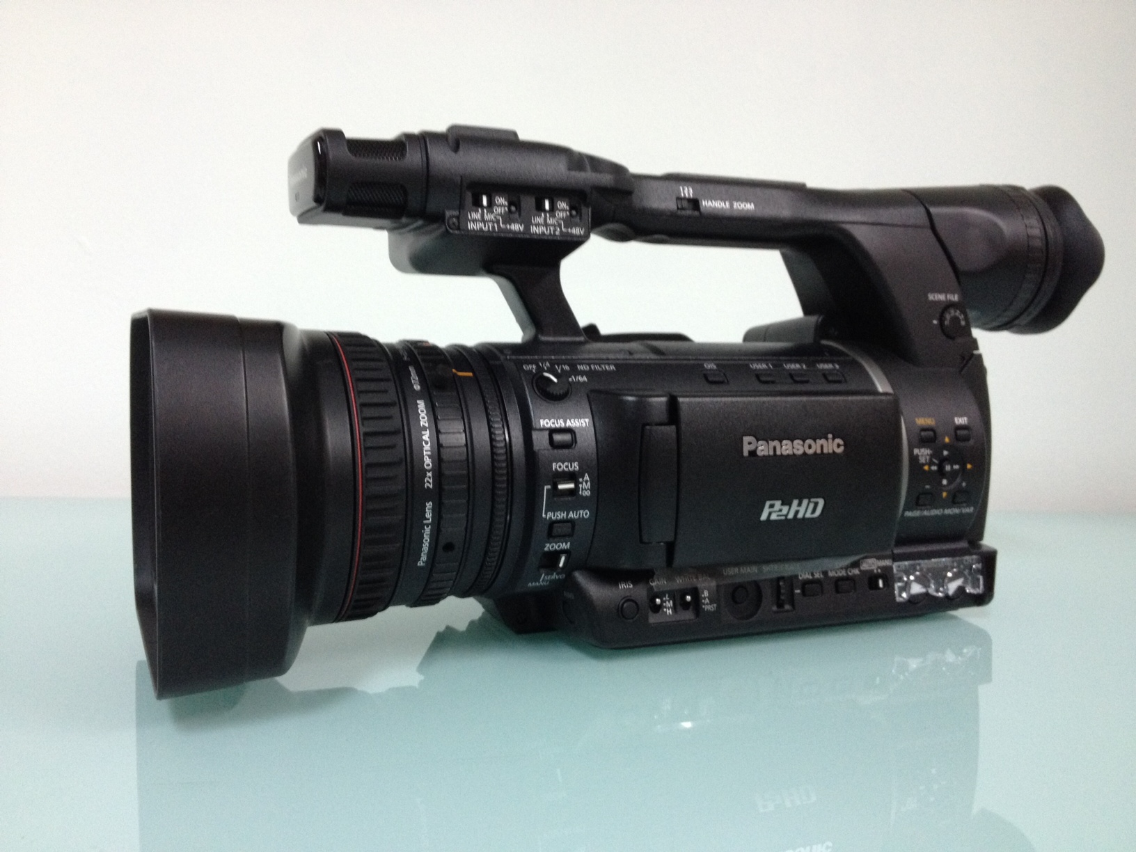 Panasonic  AG-HPX 250 in mint condition! Only 229 hours! - Image #1