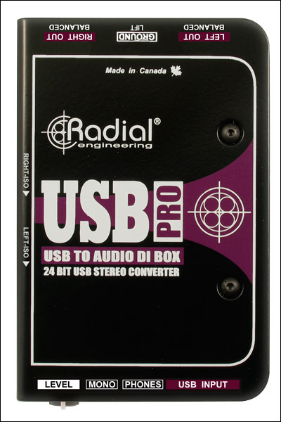 RADIAL ENGINEERING USB-PRO R800 1050 - Image #1