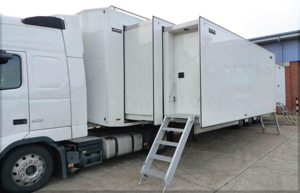 Smiths Great Bentley UK  Trailer Triple Expanding  - Image #1