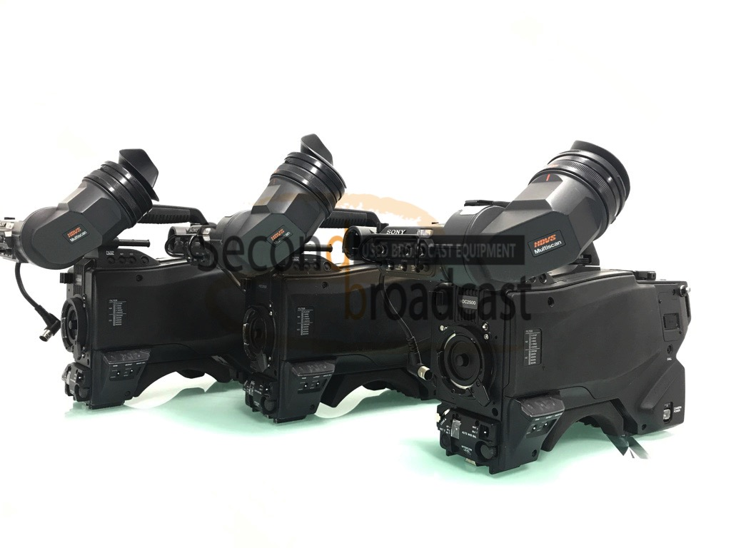 Sony HDC-2500 complete camera channels for sale - Image #1