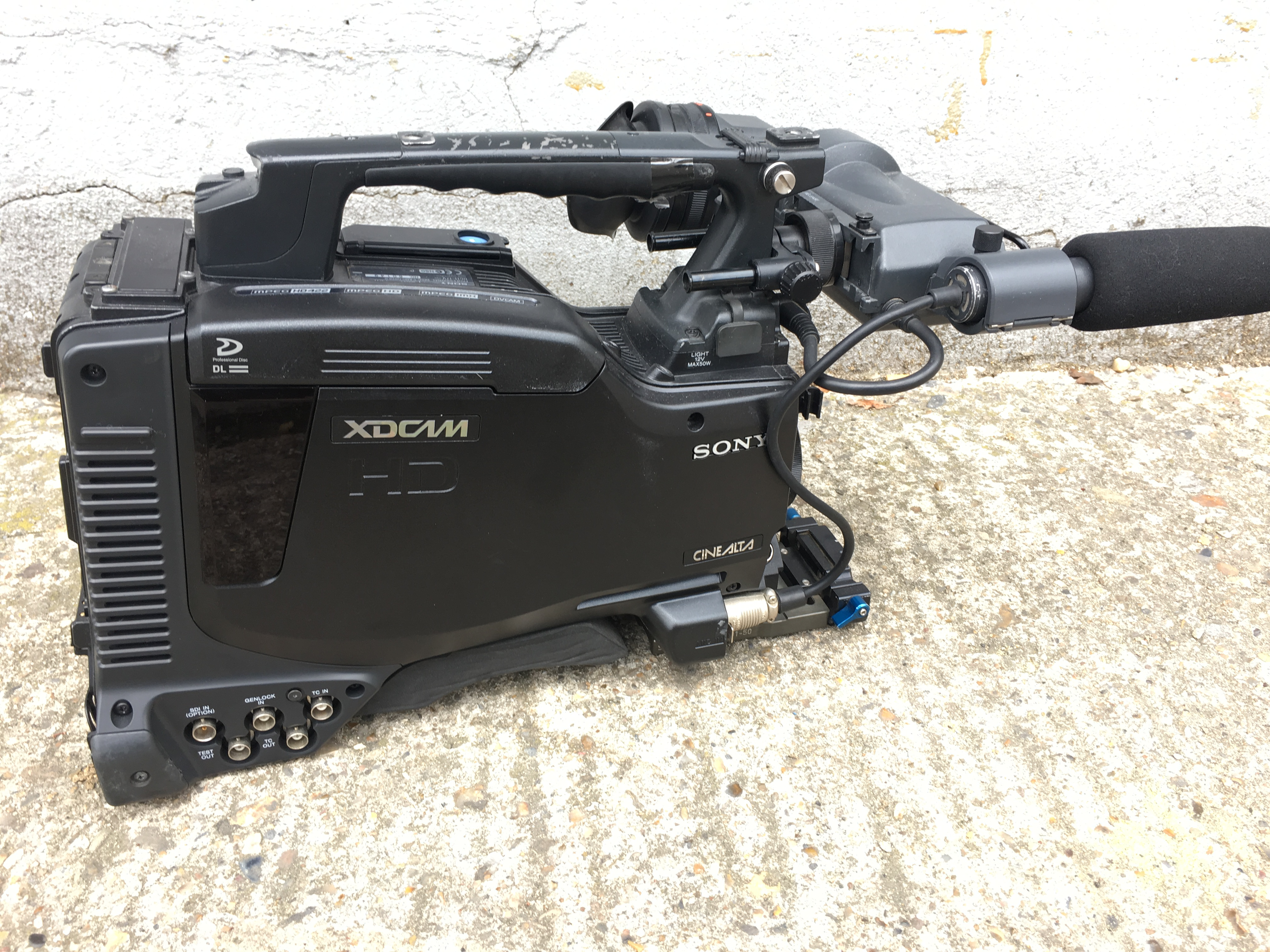 Sony PDW F800 camera PDWF800 good condition - Image #1