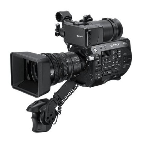 Sony PXW-FS7M2K 4K XDCAM Super 35mm Camcorder with 18-110mm Servo Zoom Lens - Image #1