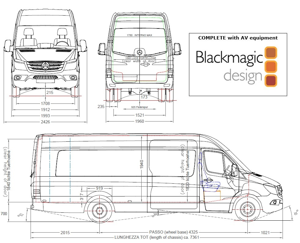 VLS 6-CAMERA BLACKMAGIC OB VAN - Image #1