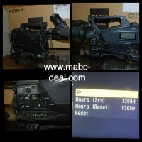 camera Sony PMW 350 with VF (1309heures)
