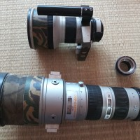 Canon FD 300 mm f/2.8 Optex PL mount  with 2x  convertor
