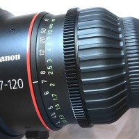 Immaculate CN7 17-120 PL zoom lens