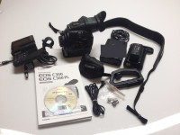PL mount camcorder with accessories - 3 months warranty