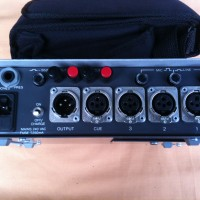 cranford three channel mixer with case  CRANFORD LOCATION MIXER THREE CHANNEL-CASE-LEADS - Image #2