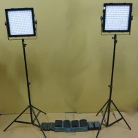 LED Light Head Manfrotto Tripod Extending Stand Studio