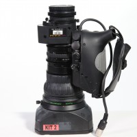 Includes Lens Hood, front cap and back cap. All functions seem in working order and all elements clear