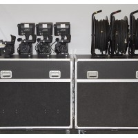 4x JVC-GY-HD251 mobile Studio Channels almost complete in flight cases.