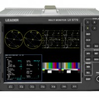 LEADER LV5770 3G/HD/SD-SDI MULTI FORMAT WAVEFORM MONITR