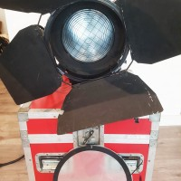 2000W FRESNEL + Lamp and Flight-case - 2 units available