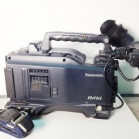 P2 HD camcorder with AJ-HVF21G + AVCIntra 100 board + mic and porta-brace cover