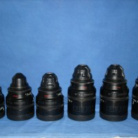 RED Pro Prime - set of 6 PL mount prime lenses