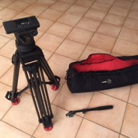 used Sachtler VIDEO 18P (used_2) – PROFESSIONAL AND BROADCAST ENG / EFP TRIPOD