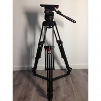 Video 18S1 fluid head + carbon fiber tripod with quick-lock - 3 months warranty
