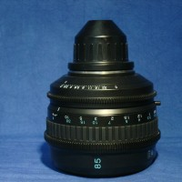 Sony 85 mm PL mount set of prime lenses