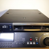 HDCAM recorder with Digibeta playback - 150 hrs drum from new