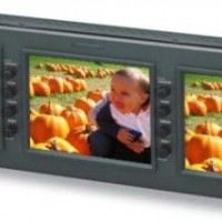 The LMD-5320 is 3 professional quality monitors together in one rack-mountable assembly.