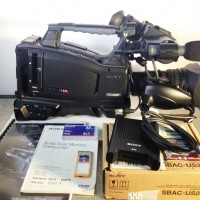 XDCAM HD cam. with FUJI FUJI XS16x5.8A-XB8 - 676 hrs- SBAC-US20 + 1 card 32gb