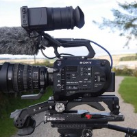 Sony FS7 Camera kit including lenses, cards, mic and case