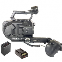 - XDCAM Super35 camera 787 Hours, Used