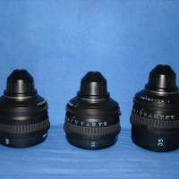Sony PL mount set of 3 prime lenses - 35 mm, 50 mm and 85 mm.  Like new.  Rs. 2.50 lakhs for a set of three.