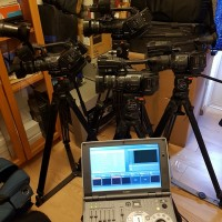 Studio Production Portable Anycast 500 HD + 4XDCAM