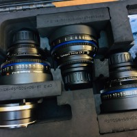 Zeiss CP.2 PL mount Prime Lens set