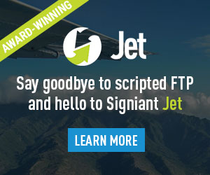 Signiant - Say Goodbye to Scripted FTP