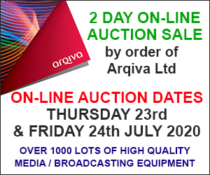 Arqiva Auction