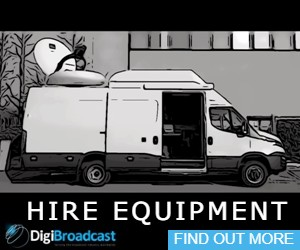 Broadcast equipment Hire
