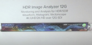 AJA Video HDR Image Analyser 12G for the latest 4K/UltraHD HDR standards at ISE 2020