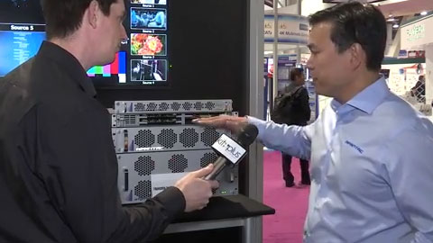 APANTAC T# Multiviewer at NAB 2015