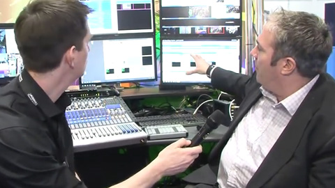 aQ Broadcast Production Suite at BVE 2014