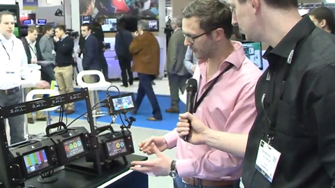 Atomos Ronin at BVE 2014