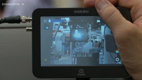 Atomos Samurai at NAB 2012