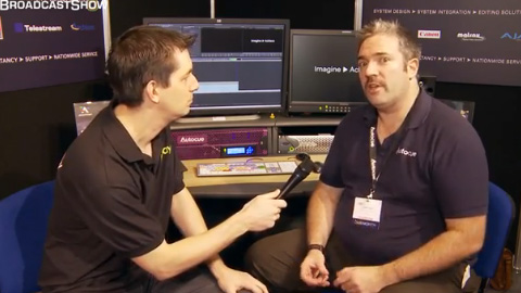 Autocue at BVE North 2011