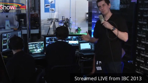 Behind the scenes of the Teradek booth on BroadcastShow LIVE at IBC 2013