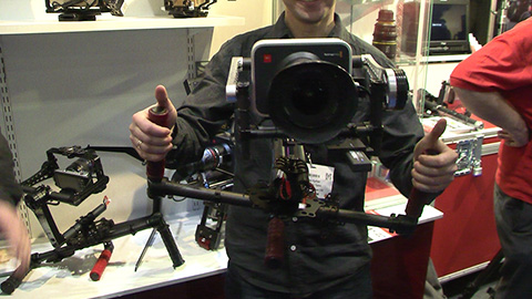 BeSteady on the Production Gear stand at BVE 2014