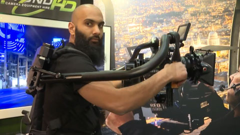 BeyondHD - Exoskeleton - at BVE 2015