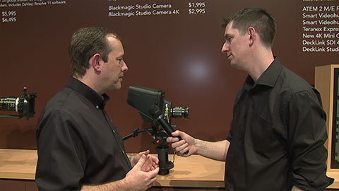 Blackmagic Studio Camera at NAB 2014